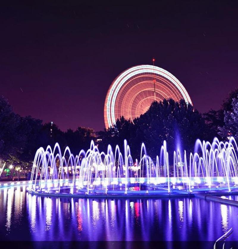 بارك ملت (حديقة الشعب) - مدينة مشهد - إيران